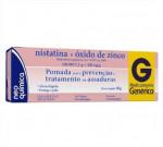 Pomada Nistatina + Óxido de Zinco