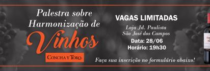 Evento! Harmonização de Vinhos Mercadinho Piratininga e Vinícola Concha Y Toro!