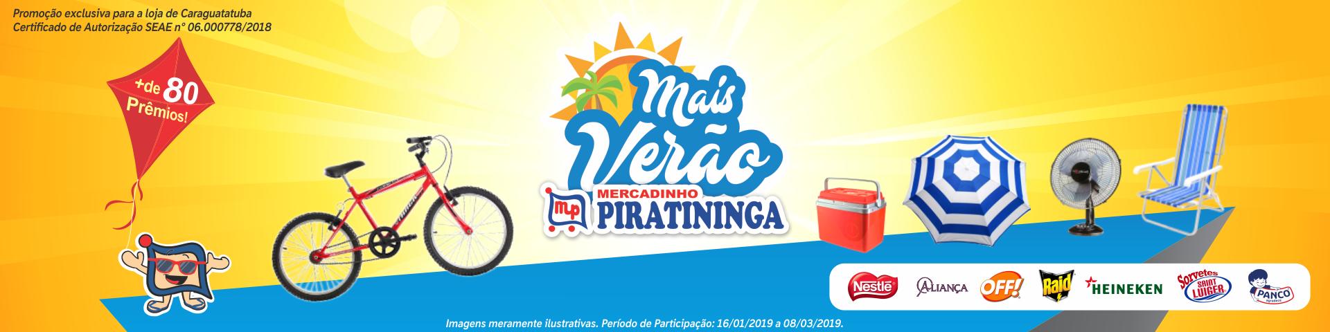 Participe da Promoção Mais Verão!