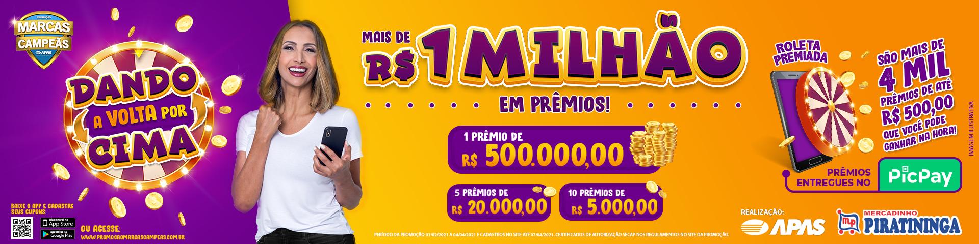 Promoção Marcas Campeãs 2021 – Dando a Volta por Cima!
