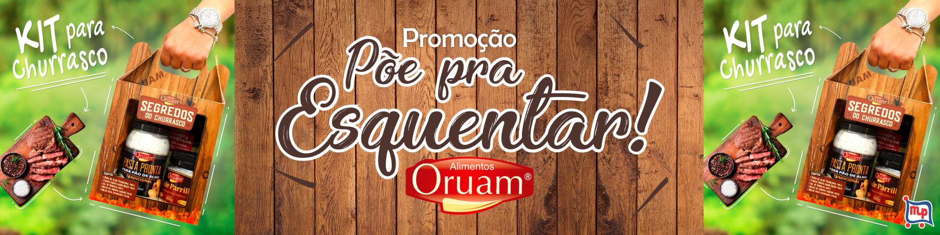 Promoção Oruam - Põe para Esquentar!