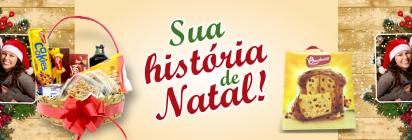 """Promoção """"Sua história de Natal""""!"""