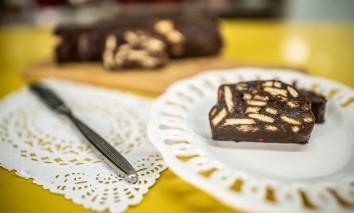 Salame de Chocolate Amargo Arcor