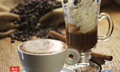 Cappuccino de Café com Chantilly