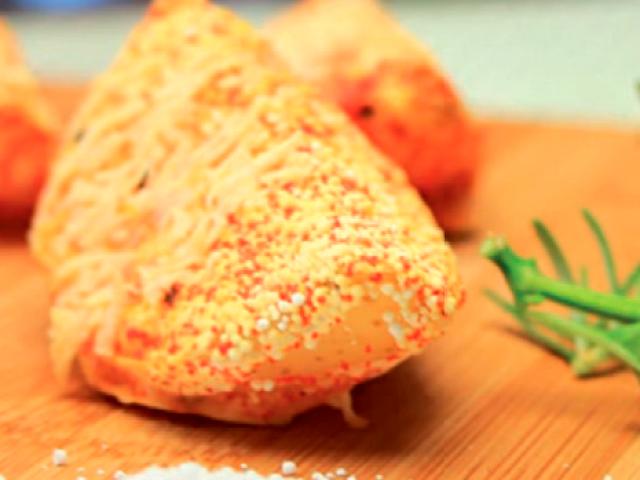 Batatas bravas crocantes com Tapioca da Terrinha!