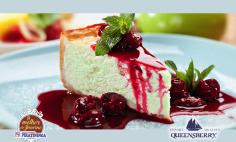 Cheesecake com Cobertura de Geléia Queensberry!