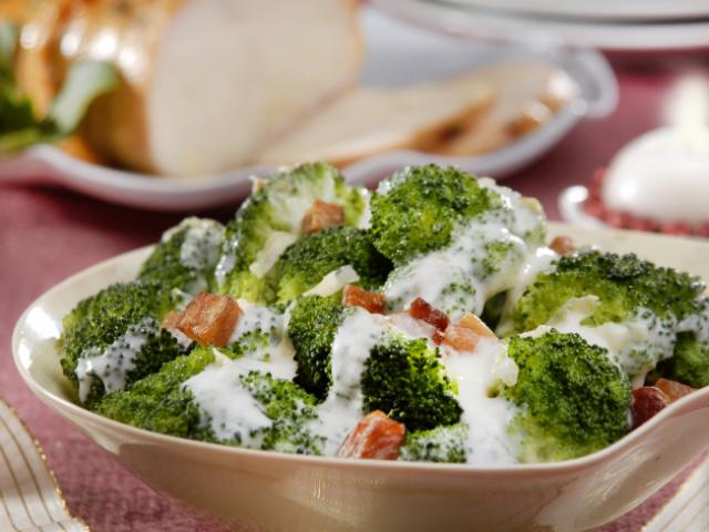 Brócolis Kimoto ao Molho Branco