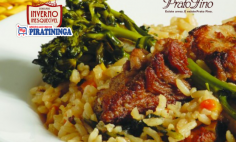 Arroz de Domingo Prato Fino!