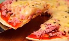 Crepioca de Pizza