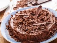 Torta Mousse de Chocolate Diet