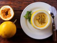 Mousse de Maracujá com Iogurte