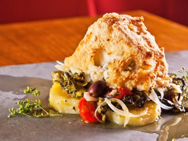 Bacalhau à Lagareiro - Restaurante Vila Chã