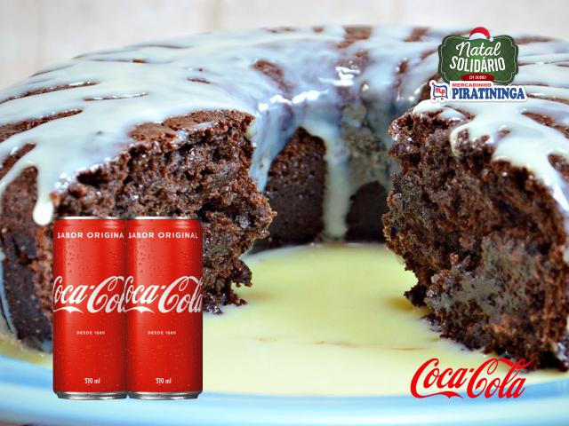 Bolo Coca-Cola®: com apenas 3 ingredientes!