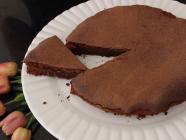 Torta de Chocolate com apenas 2 Ingredientes!
