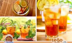 Chá Refrescante de Laranja Leão Fuse Senses