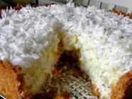 Torta Gelada de Coco dos Deuses!