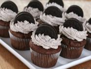 Cupcakes de Oreo ou Negresco