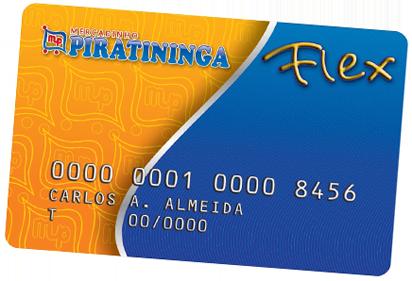 Cartão Piratininga Flex Crédito